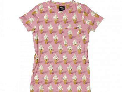 Snurk Homewear Ice Cream T-shirt dress kinderen