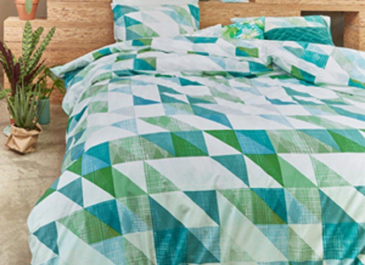 Beddinghouse dekbedovertrek Jolij green