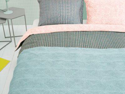Oilily dekbedovertrek Pale Blush light blue