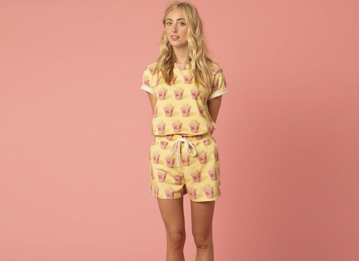 Snurk Homewear Popcorn T-shirt dames