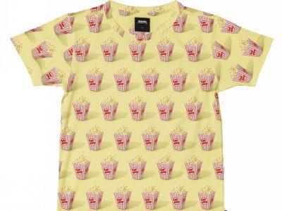 Snurk Homewear Popcorn T-shirt Heren