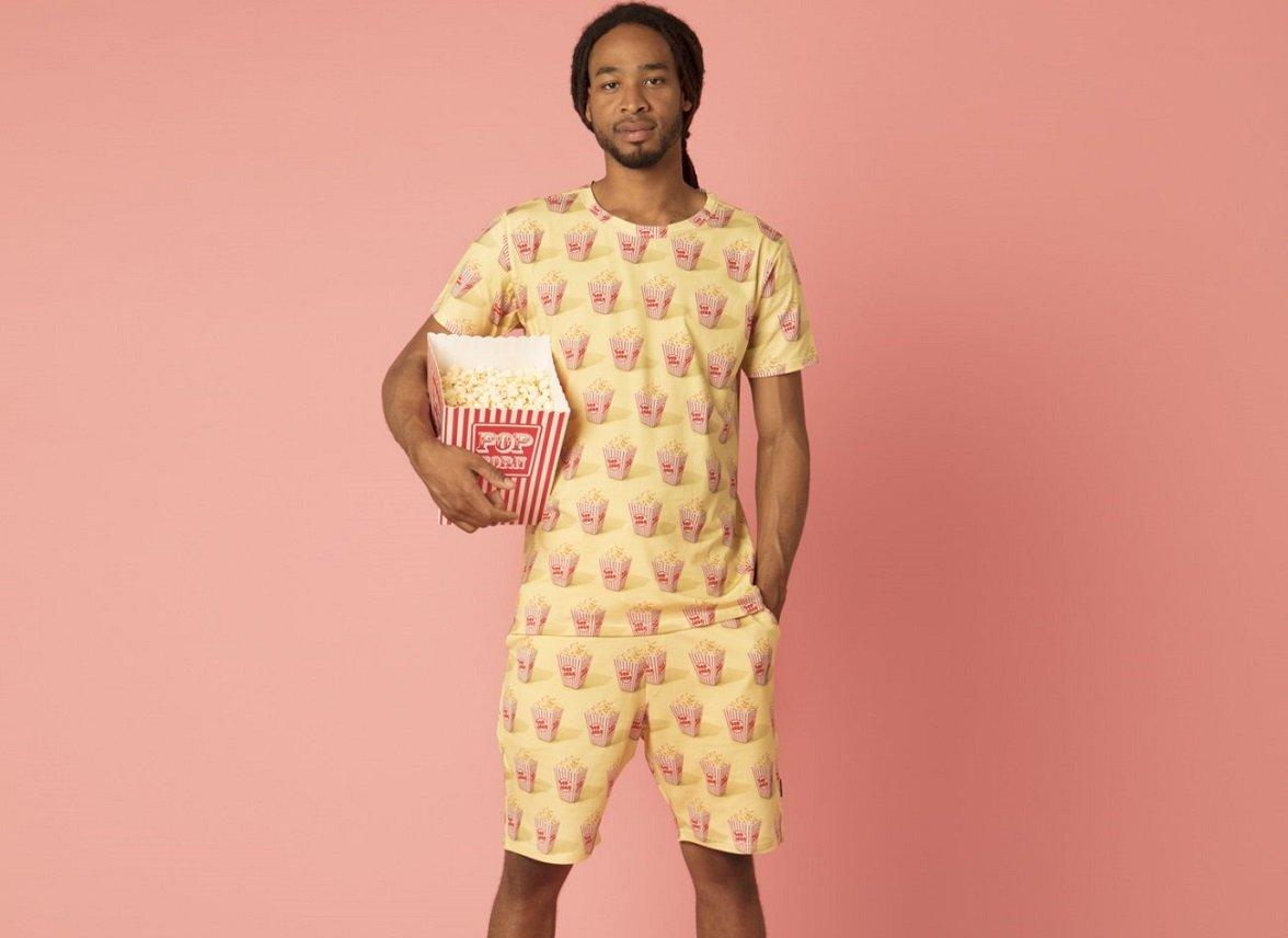 Snurk Homewear Popcorn Short Heren