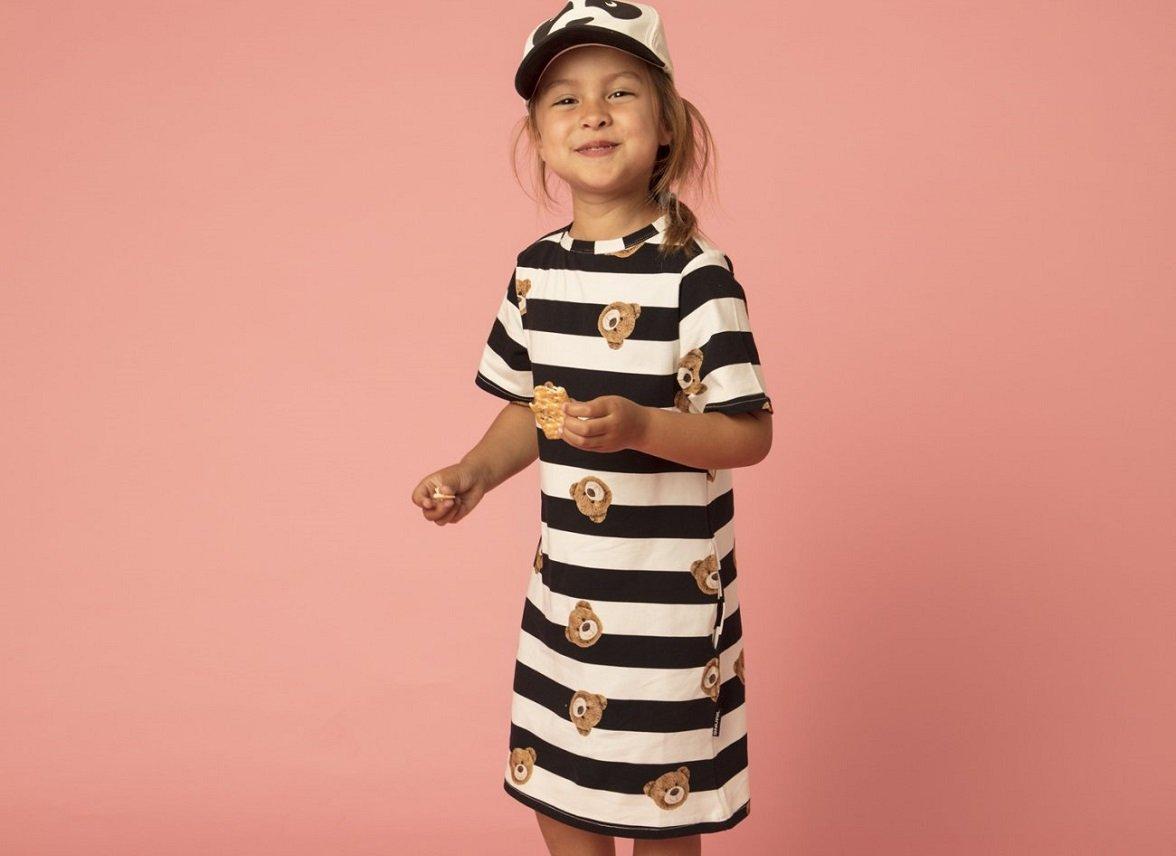 Snurk Homewear Teddy T-shirt dress kinderen