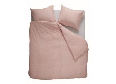 Beddinghouse dekbedovertrek flanel Frost soft pink