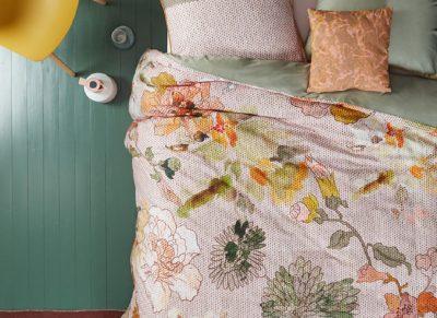 Oilily dekbedovertrek Knitted Rose multi