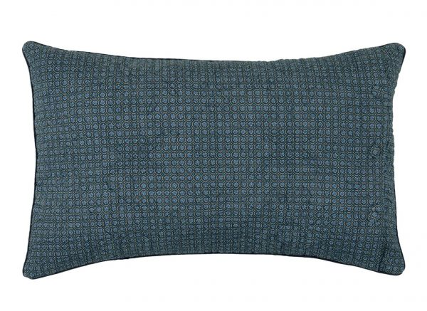 Pip Studio sierkussen Quilty Night dark blue 42x65