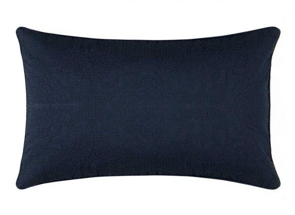 Pip Studio sierkussen Quilty Night dark blue 42x65