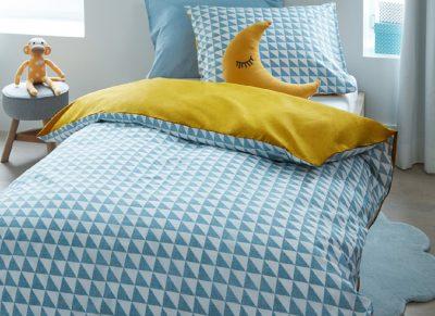 Beddinghouse dekbedovertrek Faas blue