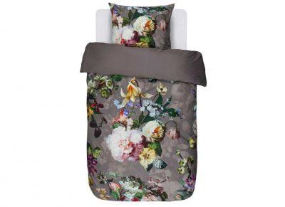 Essenza Home dekbedovertrek Fleur taupe