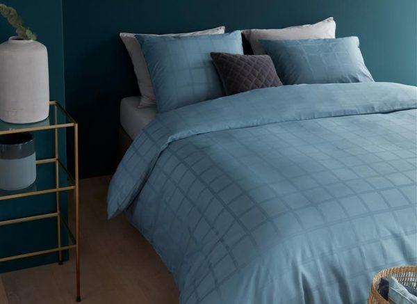 Beddinghouse dekbedovertrek Rain blue