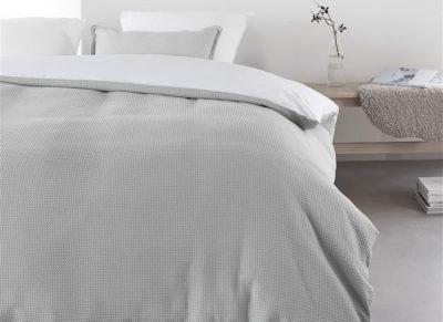 At Home dekbedovertrek Living grey