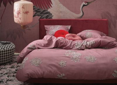 Essenza Home dekbedovertrek Lauren dusty rose