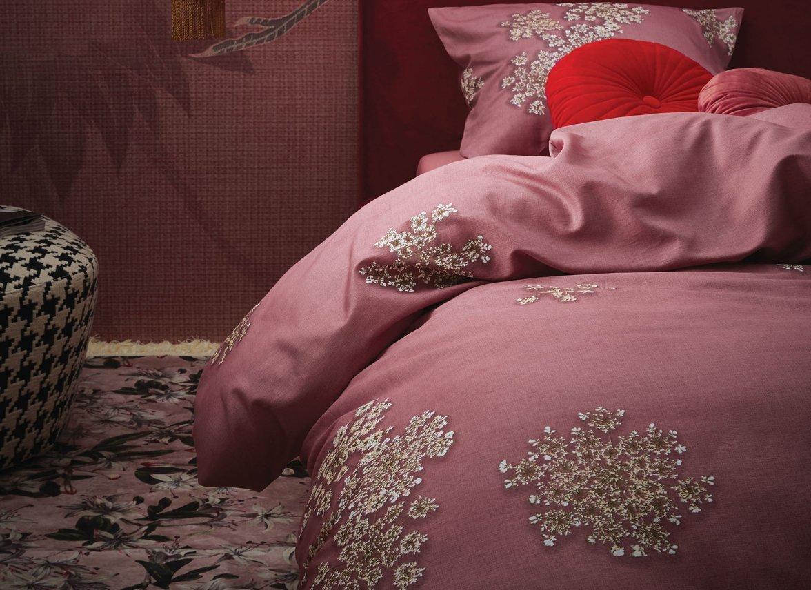 bf0bfa1f3b2 Essenza Home dekbedovertrek Lauren dusty rose - Morpheus