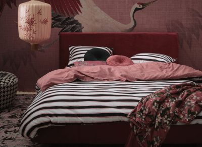 Essenza Home dekbedovertrek Lyra dusty rose