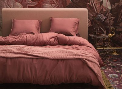 Essenza Home dekbedovertrek Minte dusty rose