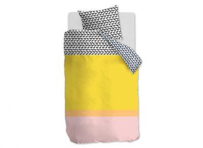 Beddinghouse dekbedovertrek Mette yellow
