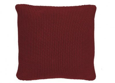 Marc O'Polo sierkussen Nordic Knit red 50×50