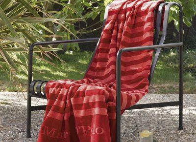 Marc O'Polo strandlaken Saburo red