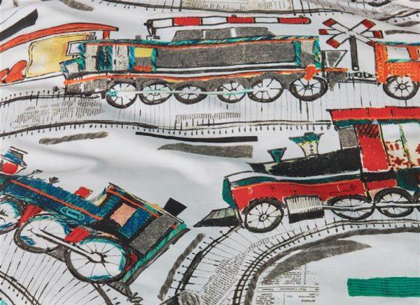 Beddinghouse dekbedovertrek Railways multi