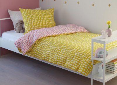 Beddinghouse dekbedovertrek Sverre yellow