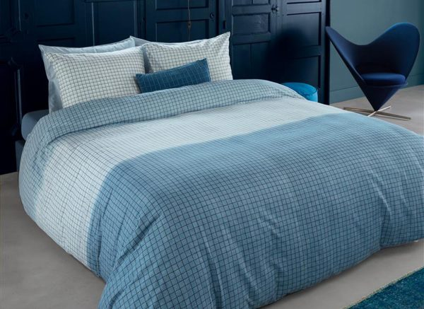 Beddinghouse dekbedovertrek Olaf blue
