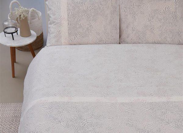 Beddinghouse dekbedovertrek Impress white