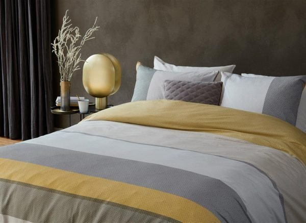 Beddinghouse dekbedovertrek Colorful Summer gold