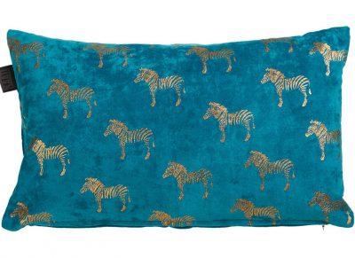 Kaat sierkussen Zebra blue