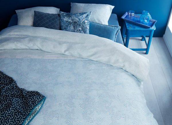 Beddinghouse dekbedovertrek Impress blue