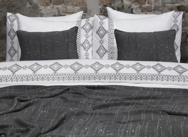 Flamant dekbedovertrek Bohemian Embroidery