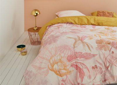 Oilily dekbedovertrek Geomatric Garden pink