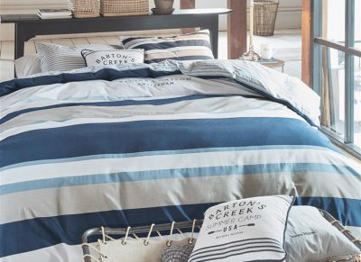Riviera Maison dekbedovertrek Mason Ridge blue