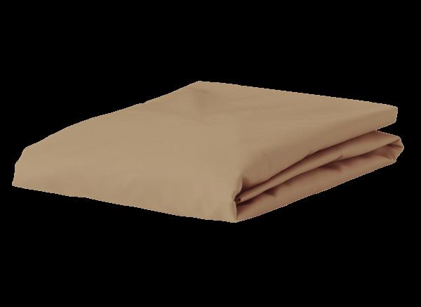 Morph Design satijn hoeslaken 300tc, khaki