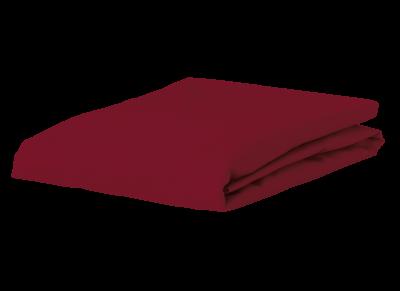 Morph Design satijn hoeslaken 300tc, wijnrood