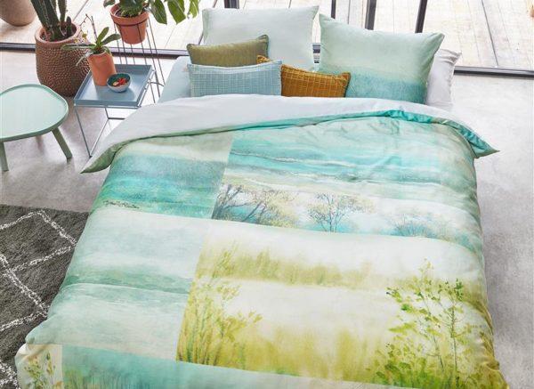 Beddinghouse dekbedovertrek Aquarelle blue