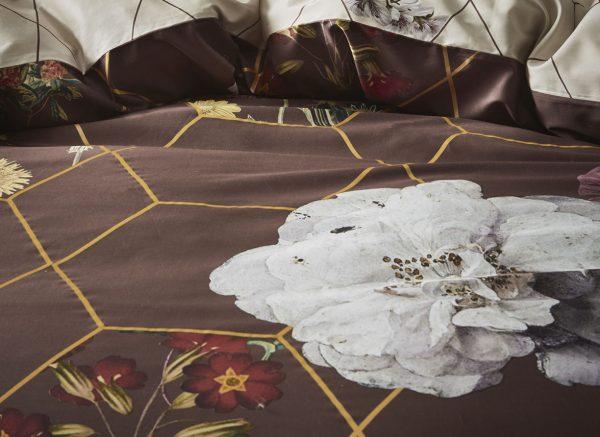 Essenza Home dekbedovertrek Abigail brown