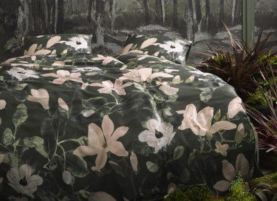 Essenza Home dekbedovertrek Luna green