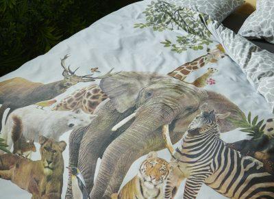Covers & Co dekbedovertrek Noah grey