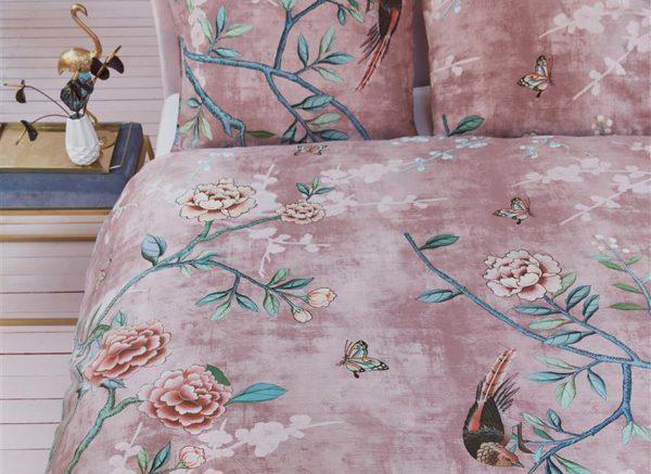 Beddinghouse dekbedovertrek Armelle pink