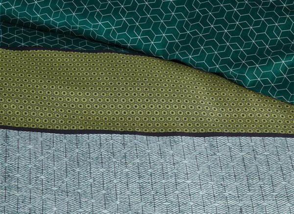 Beddinghouse dekbedovertrek Camaro green