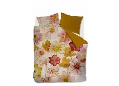 Beddinghouse dekbedovertrek flanel Cosmea pink
