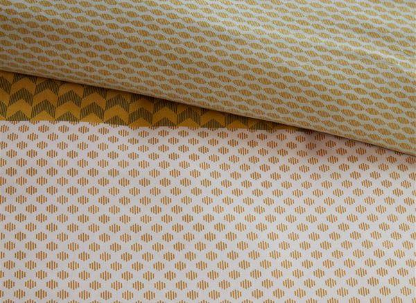 Beddinghouse dekbedovertrek Erland yellow