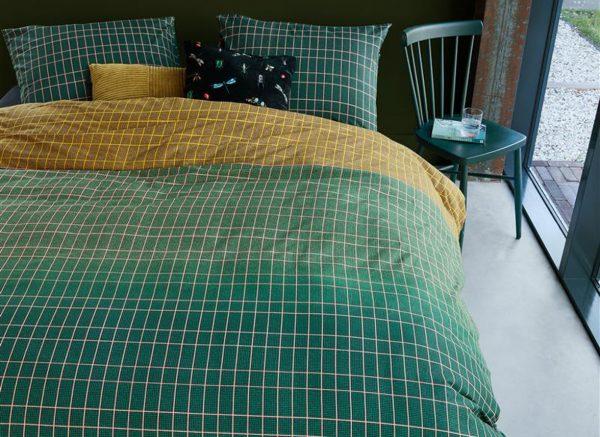Beddinghouse dekbedovertrek Ingo green