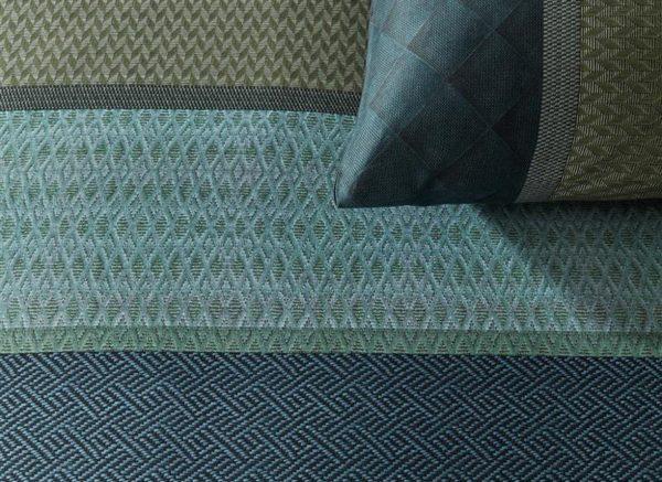Kardol & Verstraten dekbedovertrek Observer bluegreen
