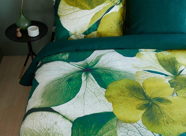 Beddinghouse dekbedovertrek Stella green