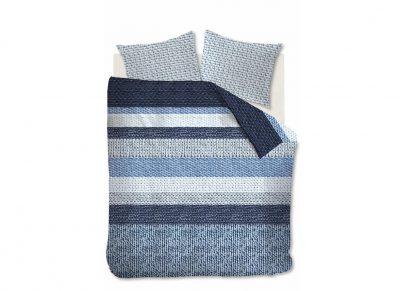 Beddinghouse dekbedovertrek flanel Valdemar blue