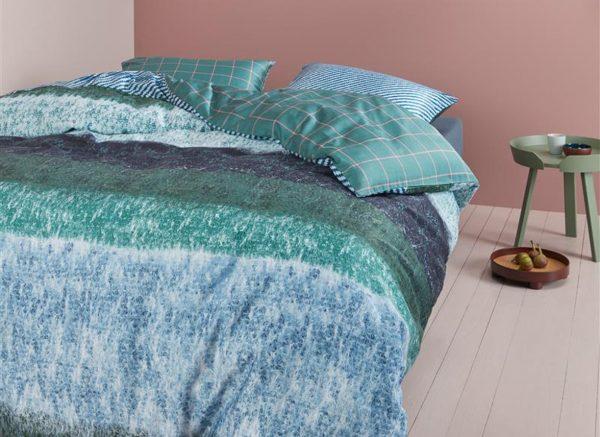 Oilily dekbedovertrek Winter Mood bluegreen