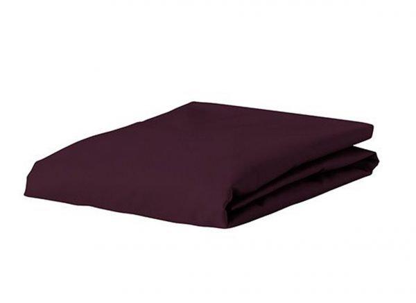 Essenza Home Premium Jersey hoeslaken, burgundy