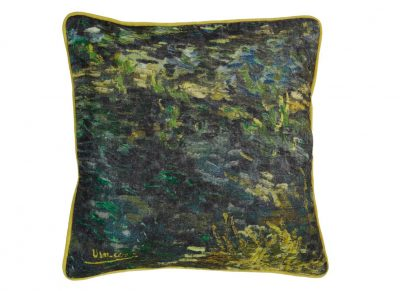 Beddinghouse sierkussen x Van Gogh Museum Paintbrush Green