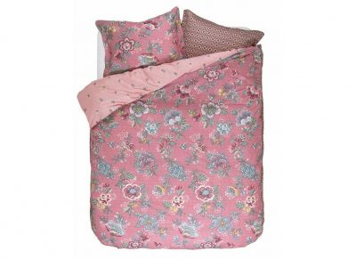 Pip Studio dekbedovertrek Berry Bird pink